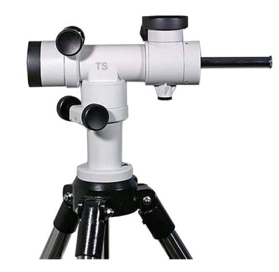Montatura altazimutale TS Optics con treppiede - movimenti micrometrici - porta 2 telescopi