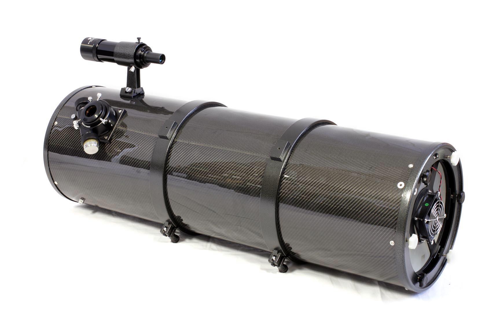 """TS 10"""" f/4 Newton UNC con tubo in fibra di carbonio e posizione del fuoco ottimizzata"""