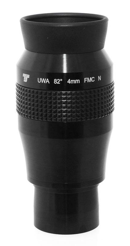 Oculare TS Optics Ultra Wide Angle UWAN 4mm - 82° - nuova generazione