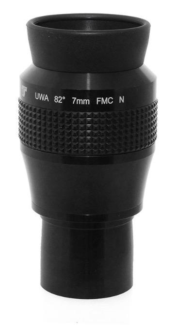 Oculare TS Optics Ultra Wide Angle UWAN 7mm - 82° - nuova generazione