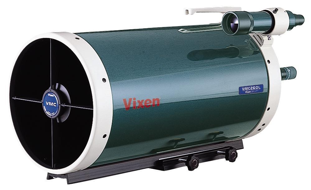 Tubo ottico Vixen VMC260L è un Cassegrain modificato con 260mm di diametro - privo di flip mirror e cercatore da 7x50