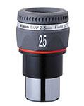 """Oculare Vixen - barilotto 1.25"""" - 50° campo apparente - lunghezza focale 2.5mm"""