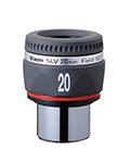 """Oculare Vixen - barilotto 1.25"""" - 50° campo apparente - lunghezza focale 20mm"""