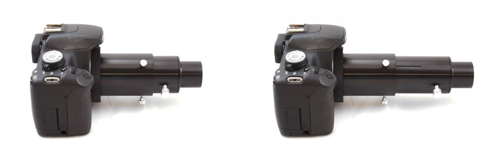 Adattatore da 31.8mm variabile per fotografia in proiezione