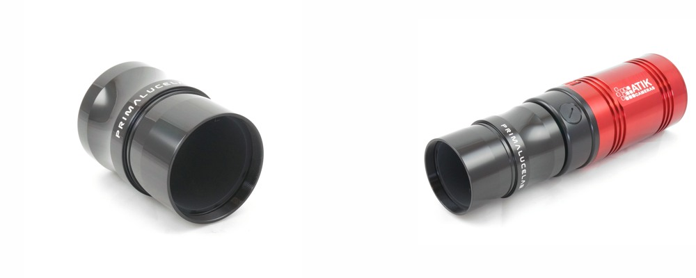 Adattatore T2-50,8mm lungo