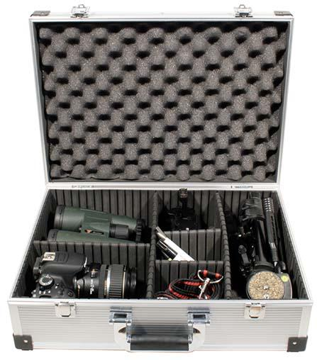 TS-Optics Alucase for eypieces, small telescopes, photo accessories [EN]