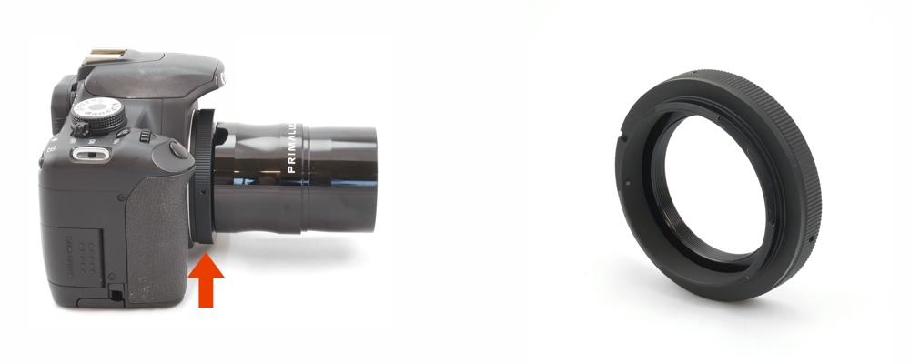 Canon EOS-T Ring - Anello T2 per fotocamere Canon EOS