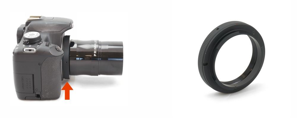 Nikon-T Ring - Anello T2 per fotocamere Nikon