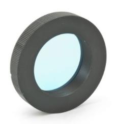 Canon EOS-T Ring - Anello T2 per fotocamere Canon EOS con portafiltri 50,8mm integrato