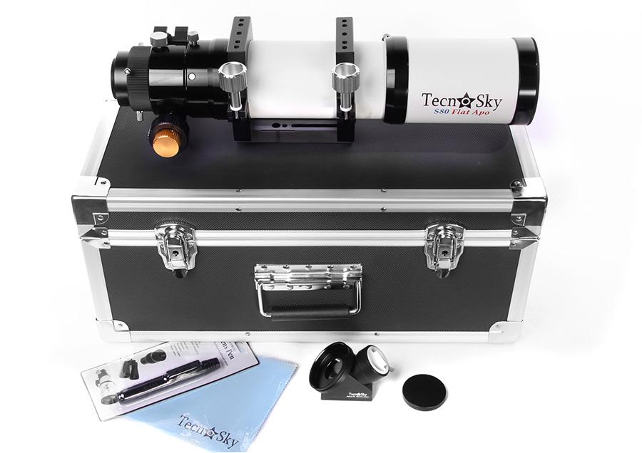 Tecnosky Apo S80 F4,3 FlatField V2
