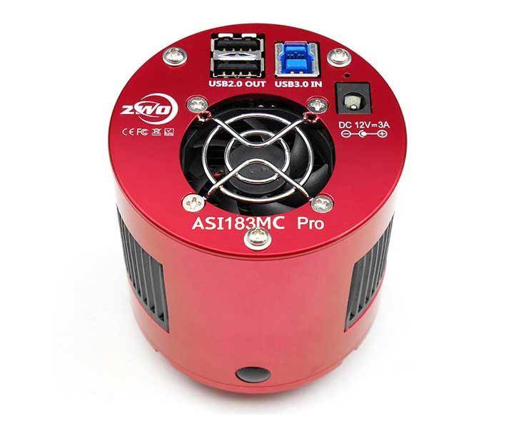 ZWO Color Cooled Astro Camera ASI 183MC Pro Sensor D=15.9mm  [EN]