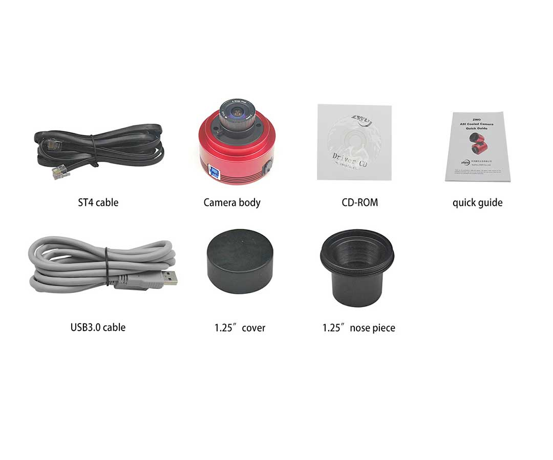 ZWO ASI385 USB3.0 Color CMOS Camera - Chip D=8.35 mm [EN]