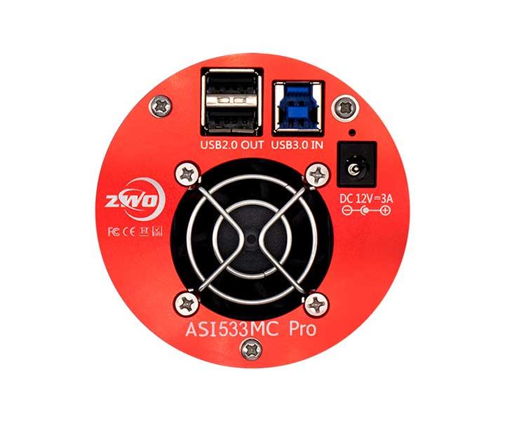 ZWO Color Cooled Astro Camera ASI 533MC Pro Sensore D=16mm