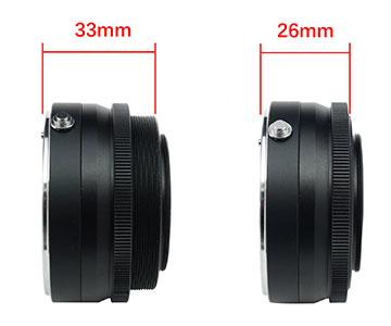 TS-Optics CCD Adapter for Canon EOS lenses to T2 - 26-33 mm length [EN]