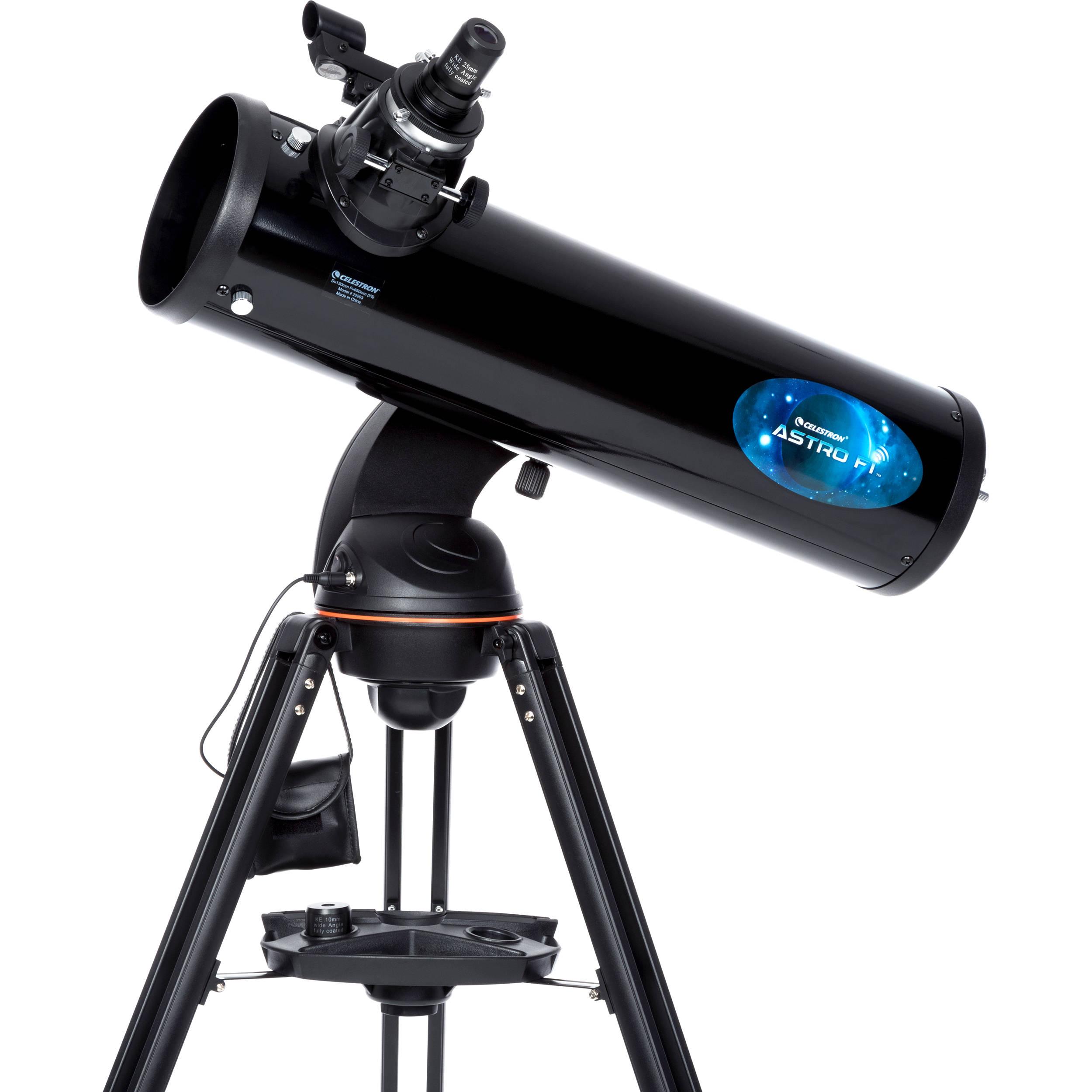 Telescopio Riflettore NewtonAstrofi 130 con montatura altazimutale computerizzata