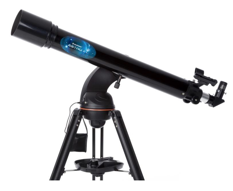 Telescopio rifrattore Astrofi 90 con montatura altazimutale computerizzata