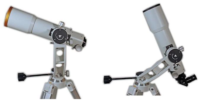 Montatura altazimutale GSO ATZ con treppiede e controllo slow motion