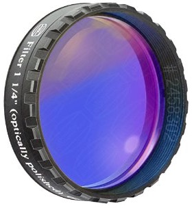 "Filtro Blu scuro visuale da 1¼"" (31.8mm). Passabanda da 435nm"