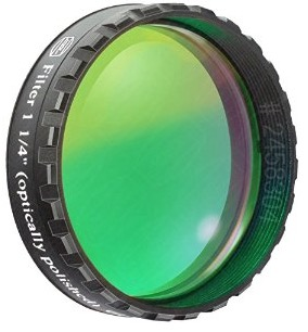 "Filtro Verde visuale da 1¼"" (31.8mm). Passabanda da 500nm"