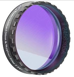 """Filtro NEODYMIUM & IR-Cut da 1¼"""" (31.8mm) con trattamento Phantom Coating Group. Ideale per ridurre luce diffusa e inquinamento luminoso"""