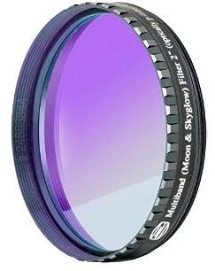 """Filtro NEODYMIUM & IR-Cut da 2"""" (50.8mm) con trattamento Phantom Coating Group. Ideale per ridurre luce diffusa e inquinamento luminoso"""