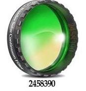 """Filtro Continuum da 1¼"""" (31.8mm) centrato sulla lunghezza d'onda 540nm per migliorare il contrasto della fotosfera solare. Da abbinare ad un filtro solare"""