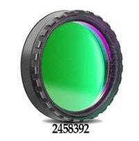 """Filtro Continuum da 1¼"""" (31.8mm) centrato sulla lunghezza d'onda 540nm. Incluso foglio di AstroSolar fotografico (densità 3.8) da 200x290mm"""