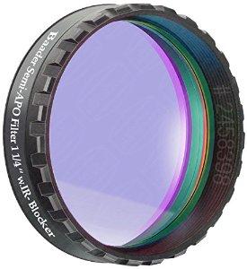 """Filtro Semi APO da 1¼"""" (31.8mm) con Phantom Coating Group. Riduce di molto il fastidioso cromatismo dei rifrattori acromatici"""