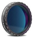 """Filtro Fotometrico B da 1¼"""" (31.8mm), con cella a basso profilo (spessore vetro 4mm) per fotometria UBVRI"""