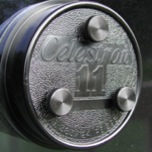 Viti di collimazione per tutti i Celestron C11 (28 cm) f/10 versione SCT  con secondario piatto e viti in pollici