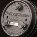 Viti di collimazione per tutti i Celestron C8 (20 cm) f/10 versione SCT dal 2005 in poi, con viti metriche (non edgeHD o Hyperstar)