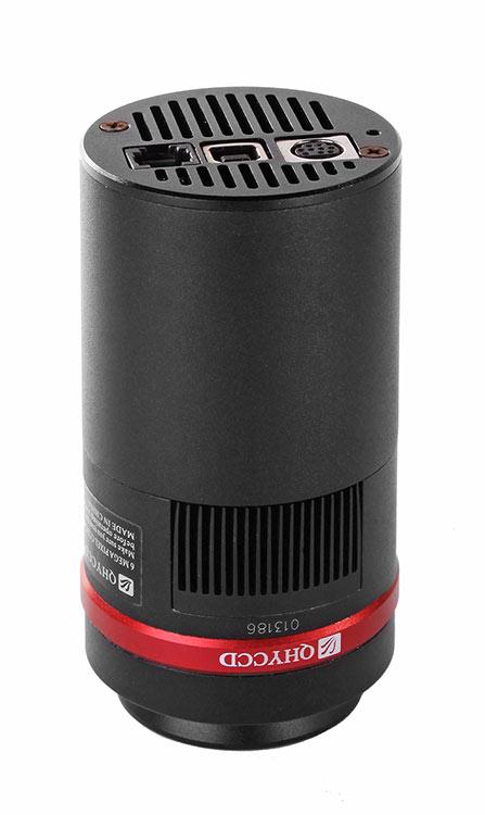 Camera CCD a colori QHY10 da 10Mpx, raffreddata a -35°