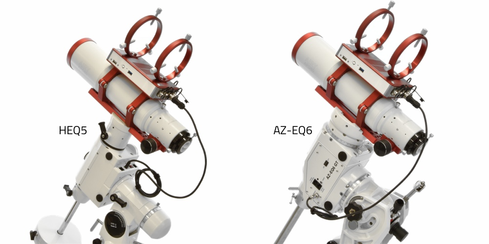 Cavo di alimentazione Eagle per SkyWatcher EQ6, HEQ5 e EQ5 SynScan - 75cm