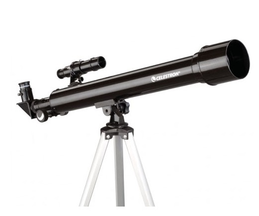 Telescopio ultraleggero PowerSeeker 50AZ, con accessori e treppiede in alluminio