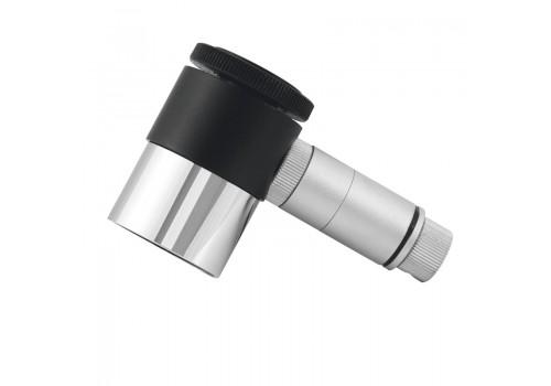 Oculare Plossl 12.5mm diametro 31.8 mm con reticolo illuminato, indicato per guida fotografica e per allineamento di telescopi e montature