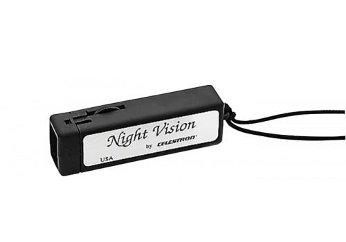 Torcia a luce LED rossa per la consultazione di mappe senza perdere l'adattamento al buio