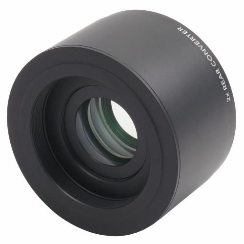 Il duplicatore di focale 2x APO si interpone tra il telescopio e la camera di ripresa, consentendo di raddoppiare la focale dello strumento.