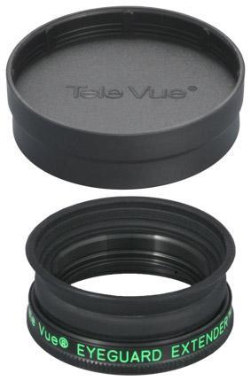 TeleVue Eyeguard Extender: una visione confortevole per tutti, anche con oculari con estrazione pupillare molto lunga