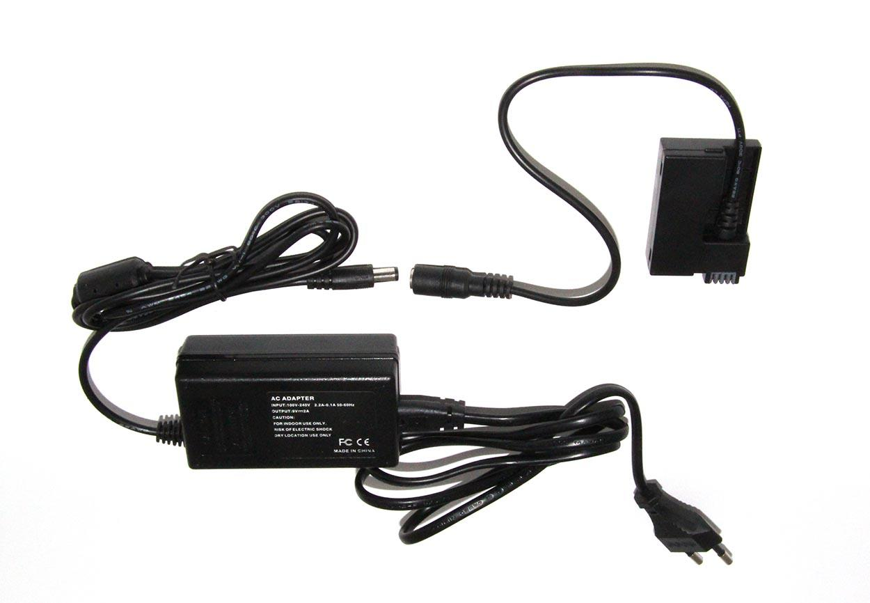 220V external power supply for your Canon EOS 5D Mark II / III, 6D, 7D, 60D [EN]