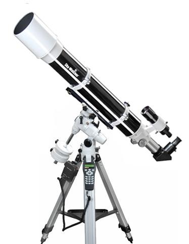 Telescopio Sky Watcher serie Evostar rifrattore 102/1000 su montatura equatoriale EQ3 Synscan