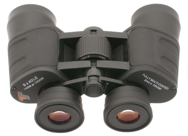 TS-Optics Optics LE 8x40 wide field Porro binoculars - multi coated - rubber armoured [EN]