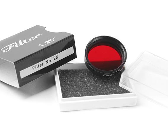 Filtro Tecnosky da 31,8mm Colorato - Rosso #25