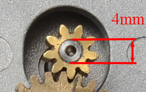 Estrattore per Kit modifica cinghia Rowan HEQ5 da 4mm