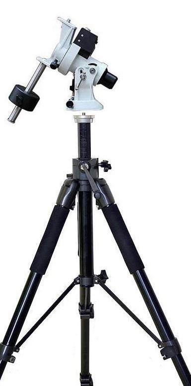 iOptron SkyGuider – Montatura Equatoriale/ Astroinseguitore per Reflex e piccoli telescopi - capacità di carico fino a 5Kg - senza treppiede