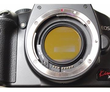 Hutech Idas LPS-V4 - filtro per la riduzione dell'IL in astrofotografia con supporto MFA per DSLR Canon