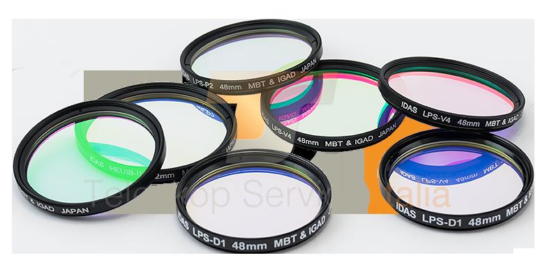 Hutech Idas LPS-D1 - filtro per la riduzione dell'IL in astrofotografia con supporto MFA per DSLR Canon