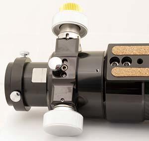 """TS Optics 70mm f/6 rifrattore ED APO - intubazione in fibra di carbonio - focheggiatore Crayford 2"""""""