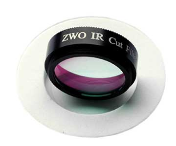 "Filtro ZWO UV IR CUT 1,25"""