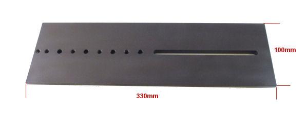 Piastra a coda di rondine Losmandy 330mm