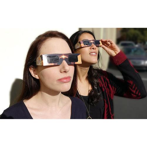 Occhialino per eclisse - Lunt Solar Viewers con Astrosolar Silver film